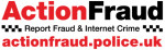 Action Fraud- report fraud and internet crime.